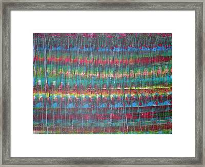 Trickle II Framed Print by Russell Simmons