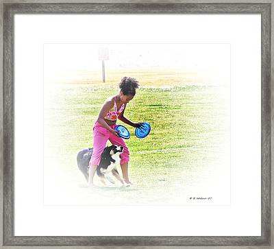 Tricks Framed Print by Brian Wallace