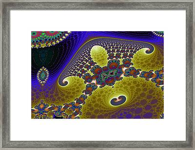 Tricorn Mandelbrot Byways No. 15 Framed Print by Mark Eggleston