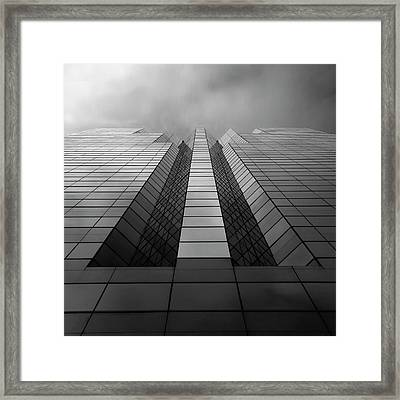 Trident Framed Print by Kevin Bergen