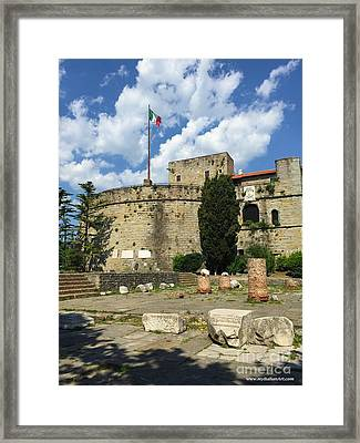 Trieste Near San Giusto Framed Print by Italian Art
