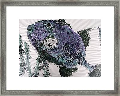 Trigger  Framed Print by Keith Baggett