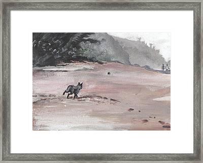 Trigger Framed Print by Sarah Lynch
