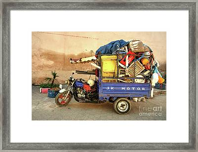 Trike Of Many Things  Framed Print by Rob Hawkins