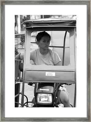 Trike Or Not Framed Print by Jez C Self
