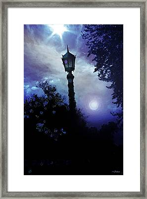Trilight Framed Print by Kat Besthorn