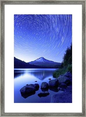 Trillium Dreamscape Framed Print by Patrick Campbell
