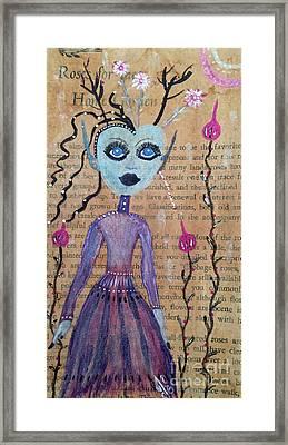 Trillium Framed Print by Julie Engelhardt