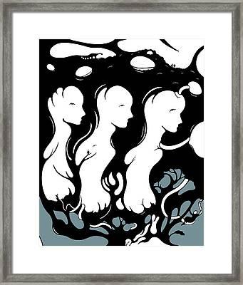Trilogy Framed Print by Craig Tilley