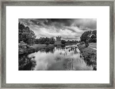 Trim Castle And The River Boyne Framed Print