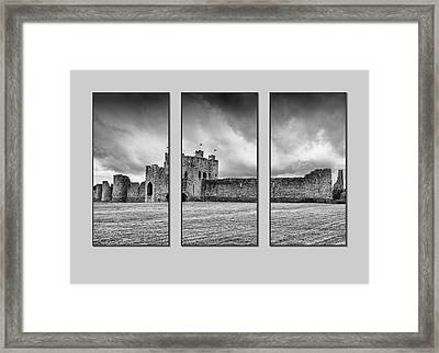 Trim Castle Triptych  Framed Print