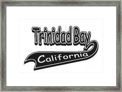 Trinidad Bay California Framed Print
