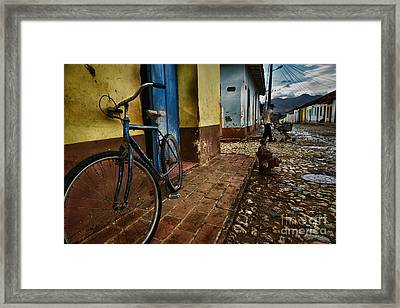 Trinidad Streets Framed Print