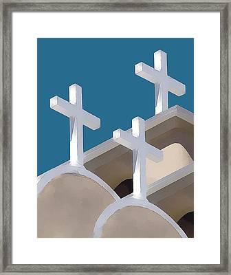 Trinity Framed Print by Carolyn Marcotte