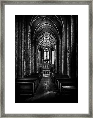 Framed Print featuring the photograph Trinity College Chapel by Brian Carson