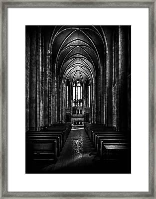 Trinity College Chapel Framed Print by Brian Carson