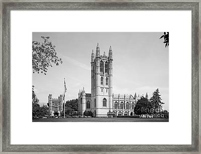 Trinity College Chapel Framed Print by University Icons