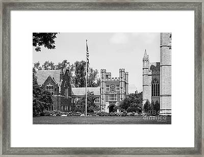 Trinity College Downes Memorial  Framed Print by University Icons