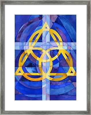 Trinity Framed Print by Mark Jennings