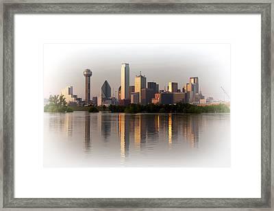 Trinity River Dallas 4 Framed Print