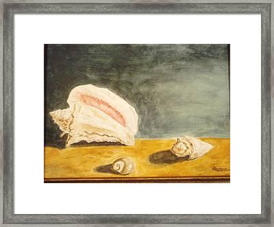 Trinity Framed Print by Robby  Entrekin