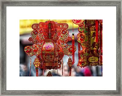 Trinkets 3 Framed Print