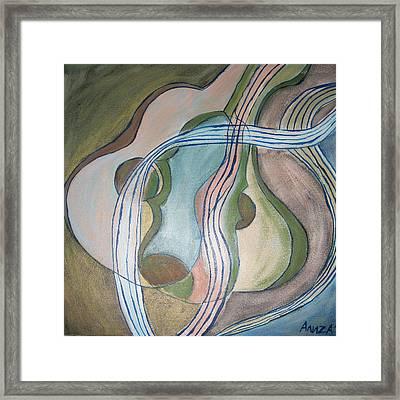 Trio Framed Print by Aliza Souleyeva-Alexander