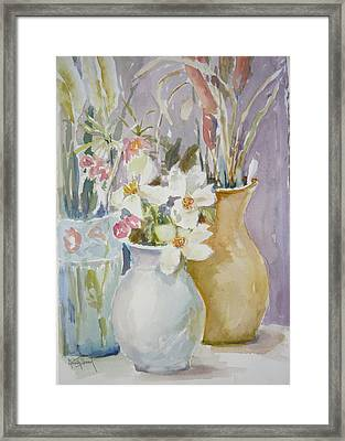 Trio Framed Print by Dorothy Herron