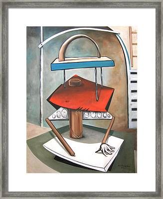 Trio Framed Print by Martel Chapman