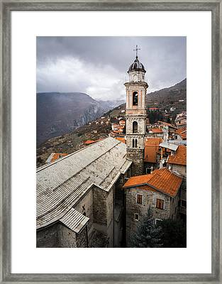 Triora Church Framed Print