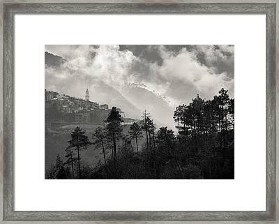 Triora Framed Print by Dave Bowman