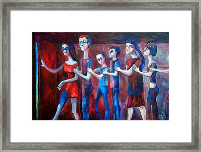 Trip For The Justice Framed Print by Elisheva Nesis