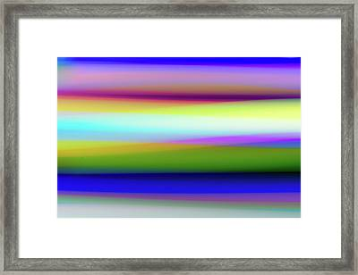 Trip Seat Framed Print