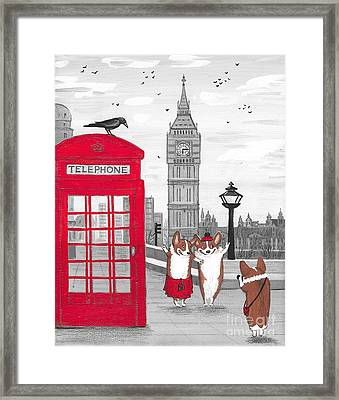 Trip To London Framed Print