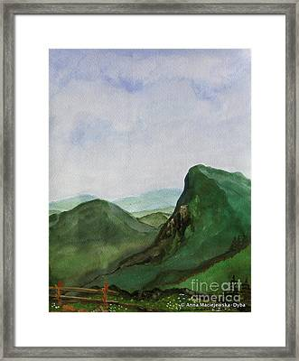 Trip To The Mountains Framed Print