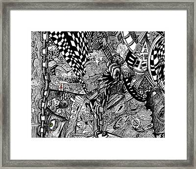 Tripal The Numbers Number 1 Framed Print