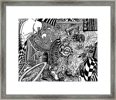 Tripal The Numbers Number 6 Framed Print