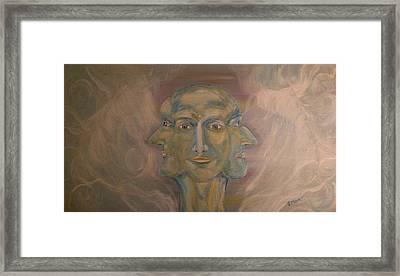Tripartite Framed Print by Jessica Mason