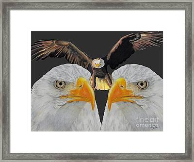 Triple Eagle Framed Print by Bill Richards