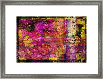 Triple Exposure Framed Print