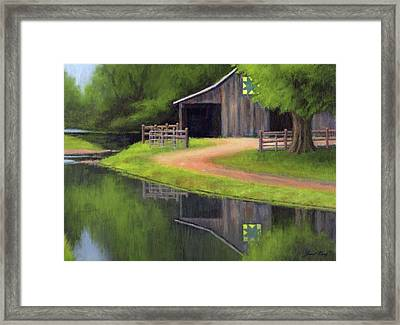 Triple L Ranch  Framed Print by Janet King