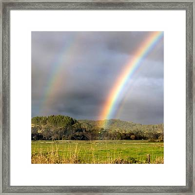 Triple Promise Framed Print