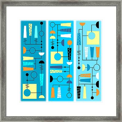 Triple Treat Framed Print