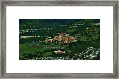 Tripler Army Medical Center Honolulu Framed Print