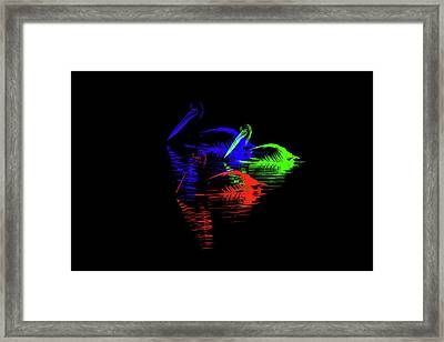 Tripolar Framed Print by Az Jackson