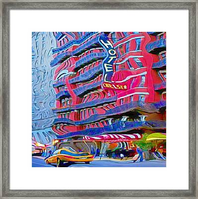 Trippin' At The Chelsea Framed Print by John Malone