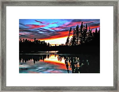 Tripping Framed Print by Steve Harrington