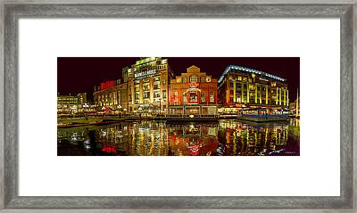 Tripping The Lights - Pano Framed Print