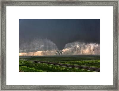 Tripple Vorticies Framed Print