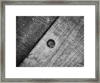 Triquetrous Framed Print by Tom Druin